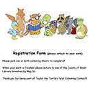 Taylor Colouring Contest Registration Form